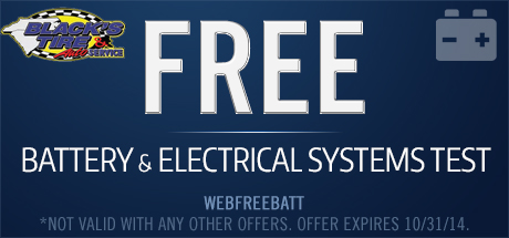 Free Battery and Electrical Systems Test